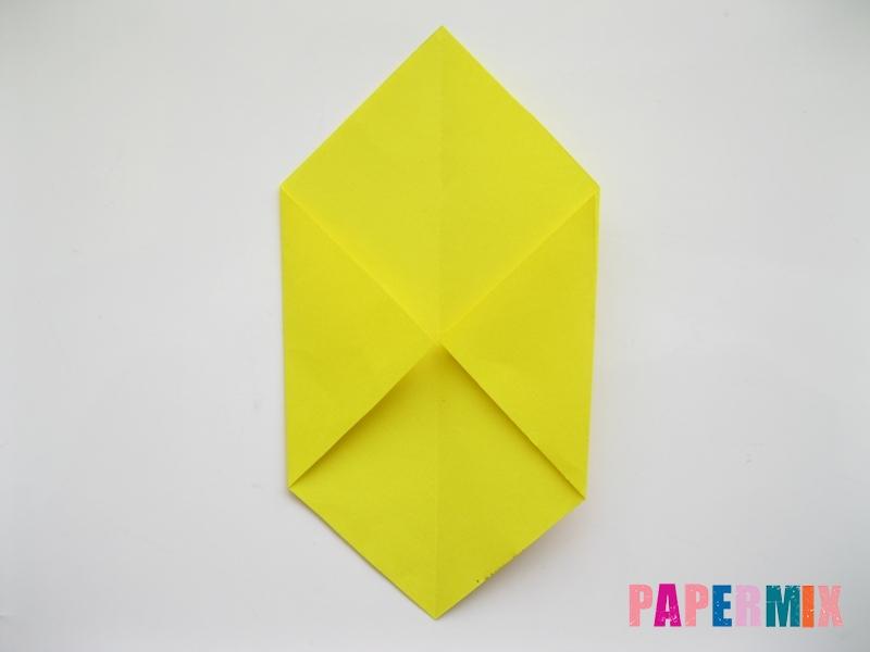 Как сделать собаку из бумаги пошаговая инструкция - шаг 2