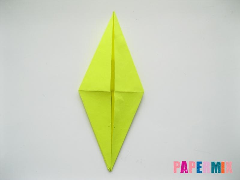 Как сделать верблюда из бумаги (оригами) поэтапно - шаг 11
