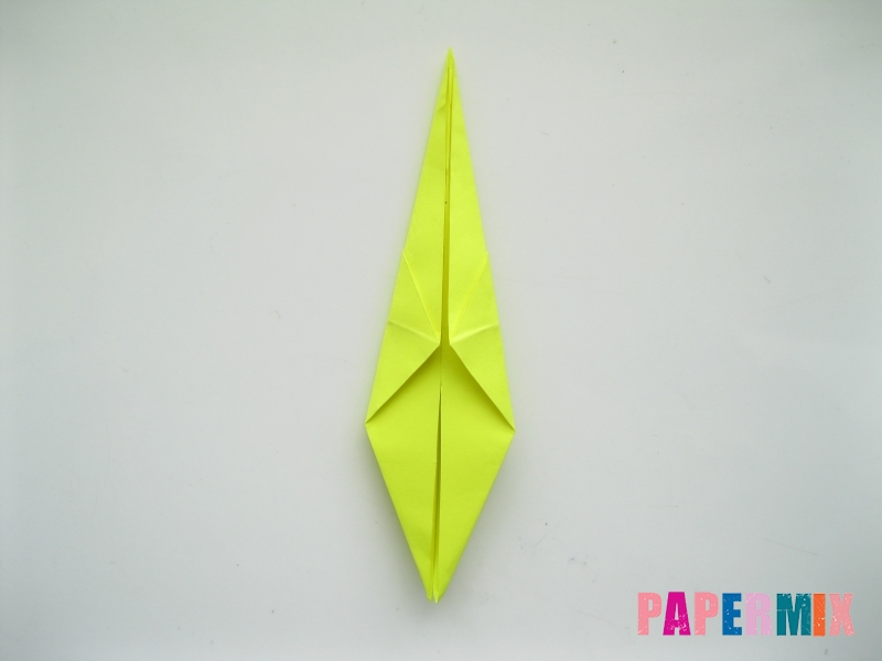 Как сделать верблюда из бумаги (оригами) поэтапно - шаг 12