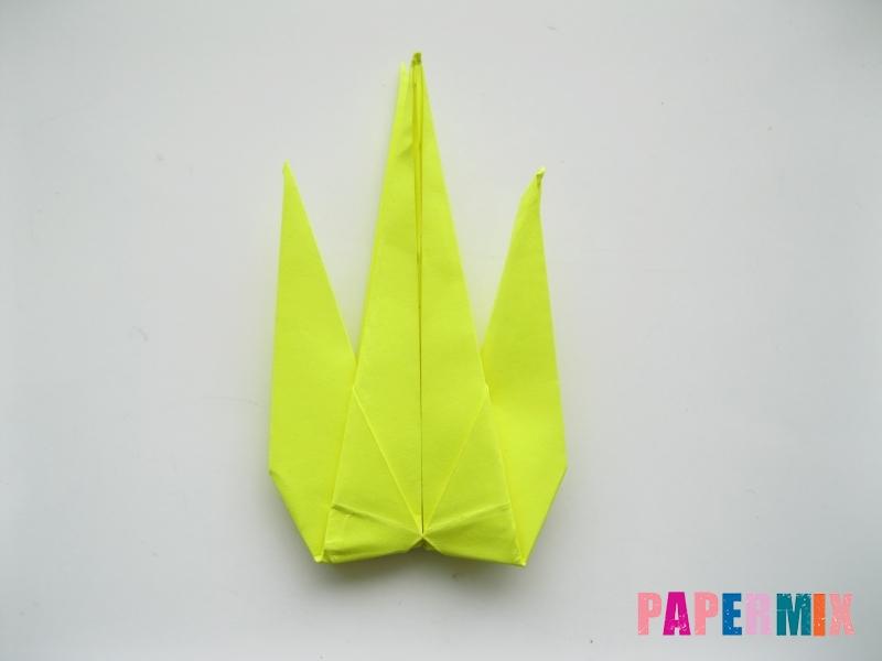 Как сделать верблюда из бумаги (оригами) поэтапно - шаг 13