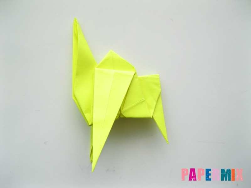 Как сделать верблюда из бумаги (оригами) поэтапно - шаг 15