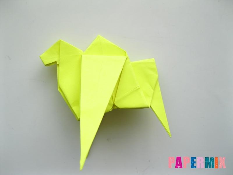 Как сделать верблюда из бумаги (оригами) поэтапно - шаг 16