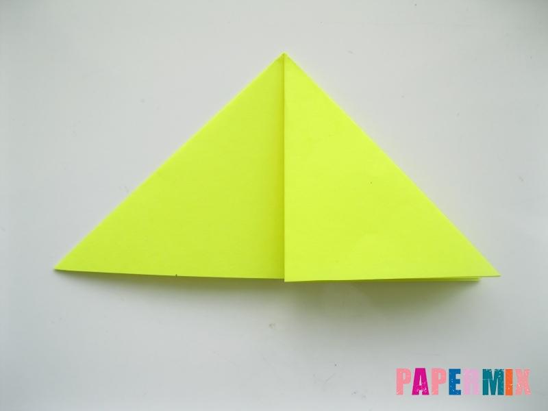 Как сделать верблюда из бумаги (оригами) поэтапно - шаг 3