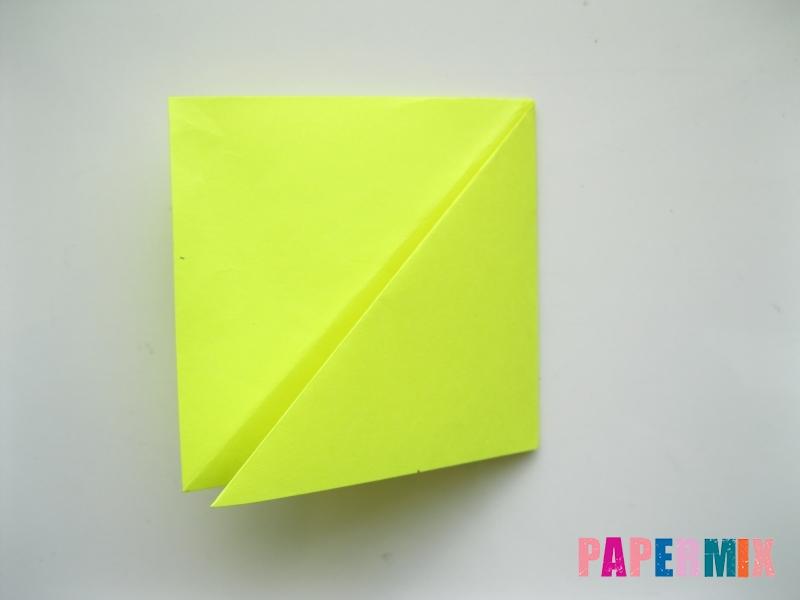 Как сделать верблюда из бумаги (оригами) поэтапно - шаг 7