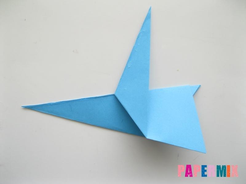 Как сделать зайца из бумаги поэтапно - шаг 7