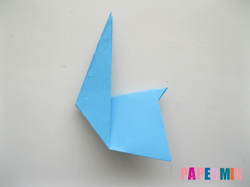 Как сделать зайца из бумаги поэтапно - шаг 8