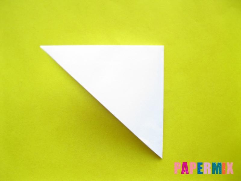 Как сделать зебру из бумаги (оригами) поэтапно - шаг 1