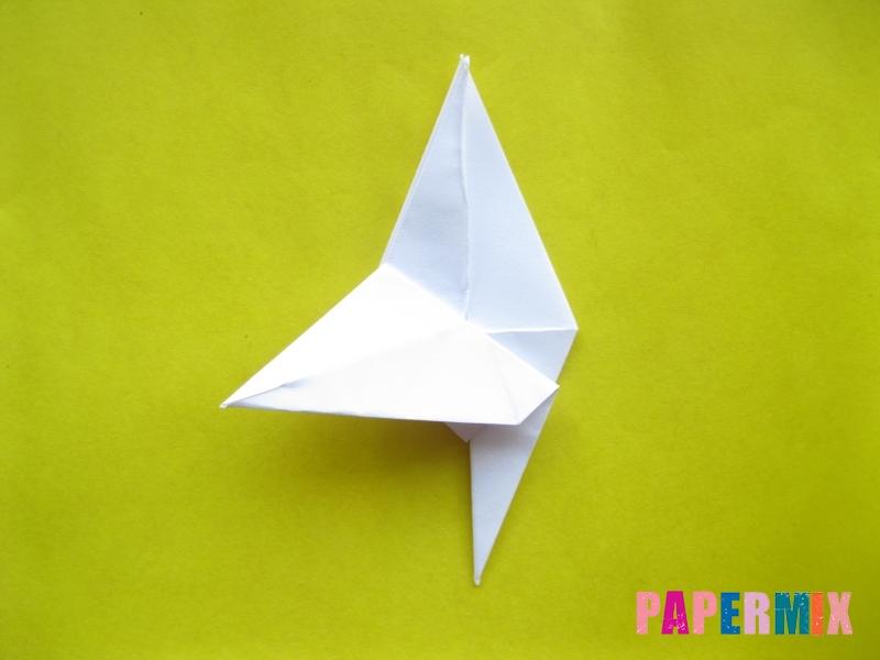 Как сделать зебру из бумаги (оригами) поэтапно - шаг 11