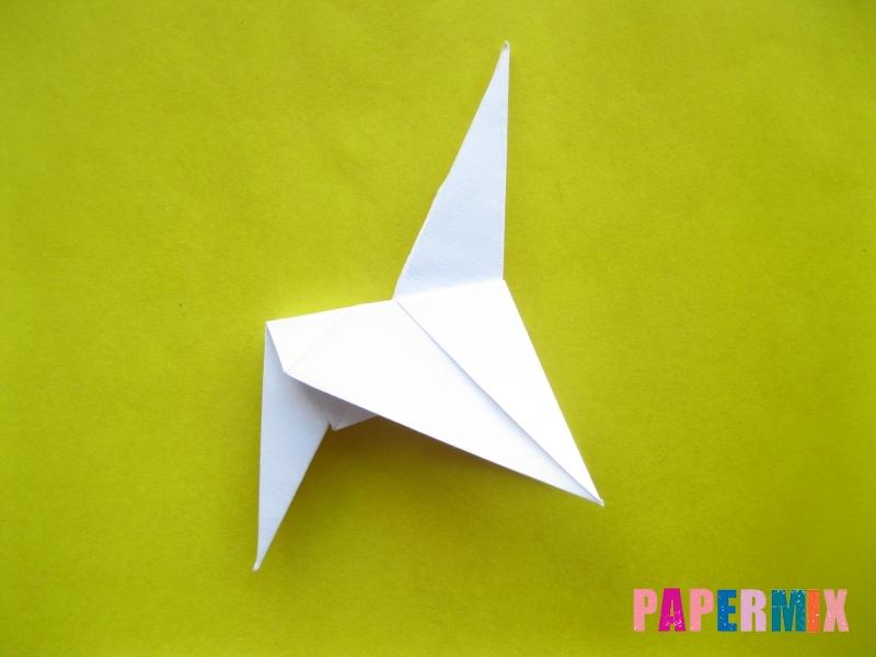 Как сделать зебру из бумаги (оригами) поэтапно - шаг 12