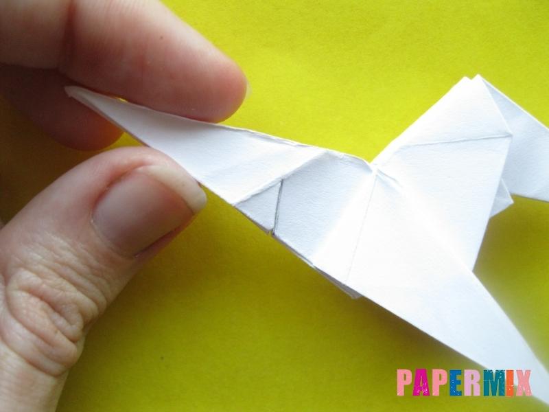 Как сделать зебру из бумаги (оригами) поэтапно - шаг 15