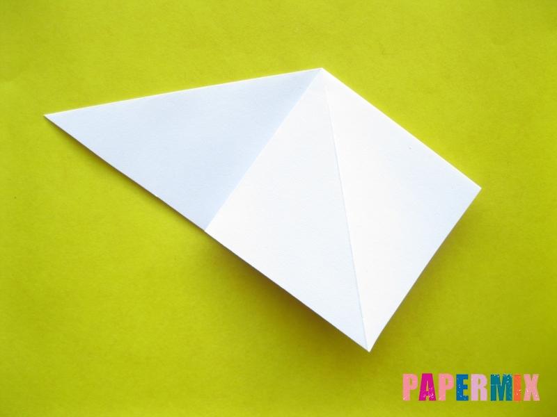 Как сделать зебру из бумаги (оригами) поэтапно - шаг 2