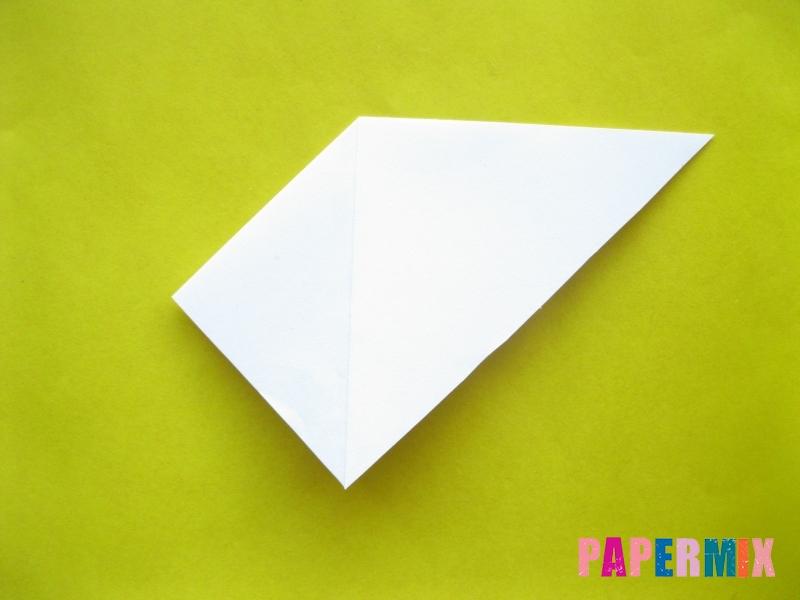 Как сделать зебру из бумаги (оригами) поэтапно - шаг 3