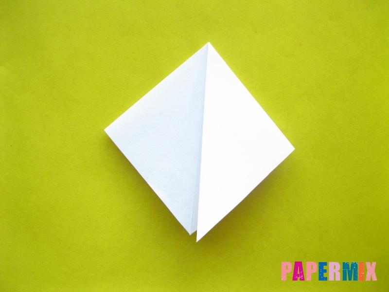 Как сделать зебру из бумаги (оригами) поэтапно - шаг 4