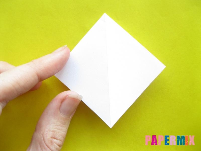 Как сделать зебру из бумаги (оригами) поэтапно - шаг 5