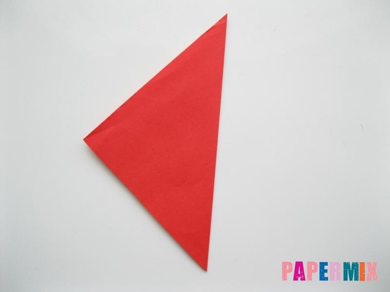 Как сделать жука из бумаги (оригами) инструкция - шаг 1