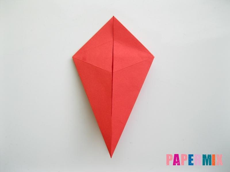 Как сделать жука из бумаги (оригами) инструкция - шаг 6