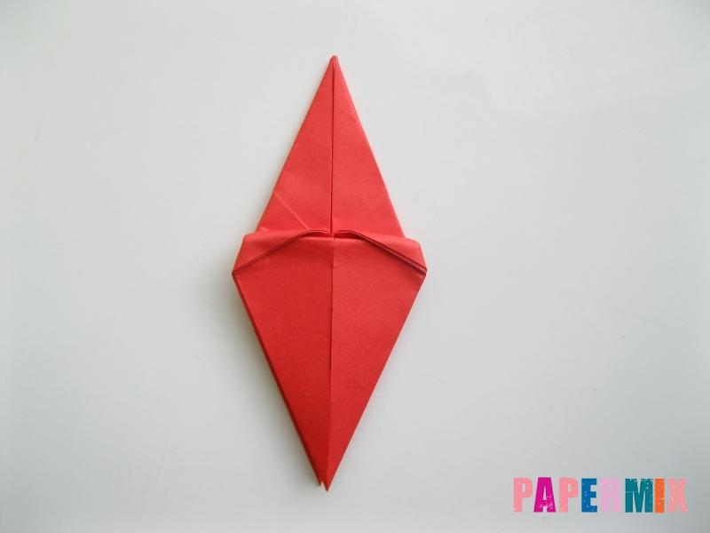 Как сделать жука из бумаги (оригами) инструкция - шаг 8