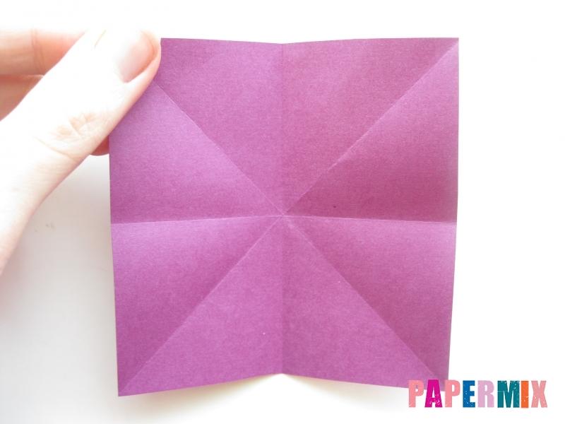 Как сделать журавлика из бумаги пошаговая инструкция - шаг 1