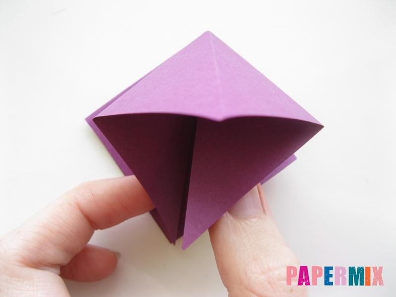 Как сделать журавлика из бумаги пошаговая инструкция - шаг 2