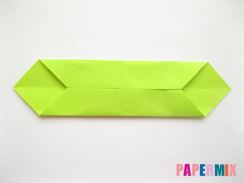 Как сделать змею из бумаги (оригами) поэтапно - шаг 3