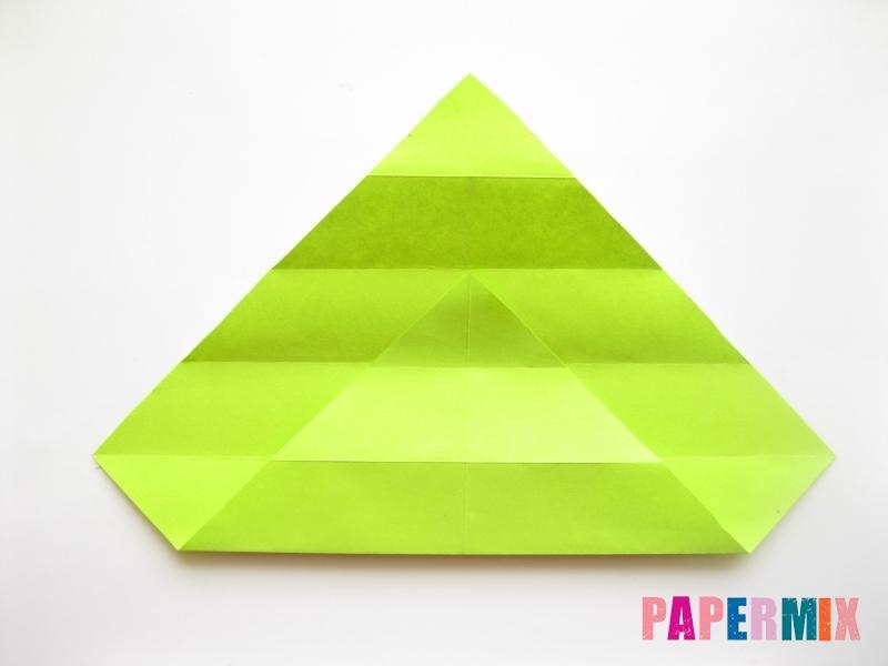 Как сделать змею из бумаги (оригами) поэтапно - шаг 5