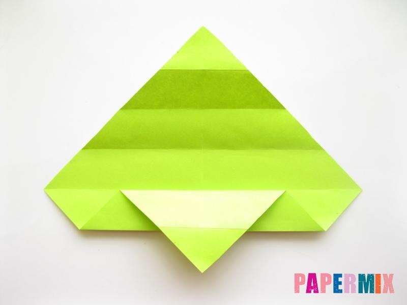 Как сделать змею из бумаги (оригами) поэтапно - шаг 6