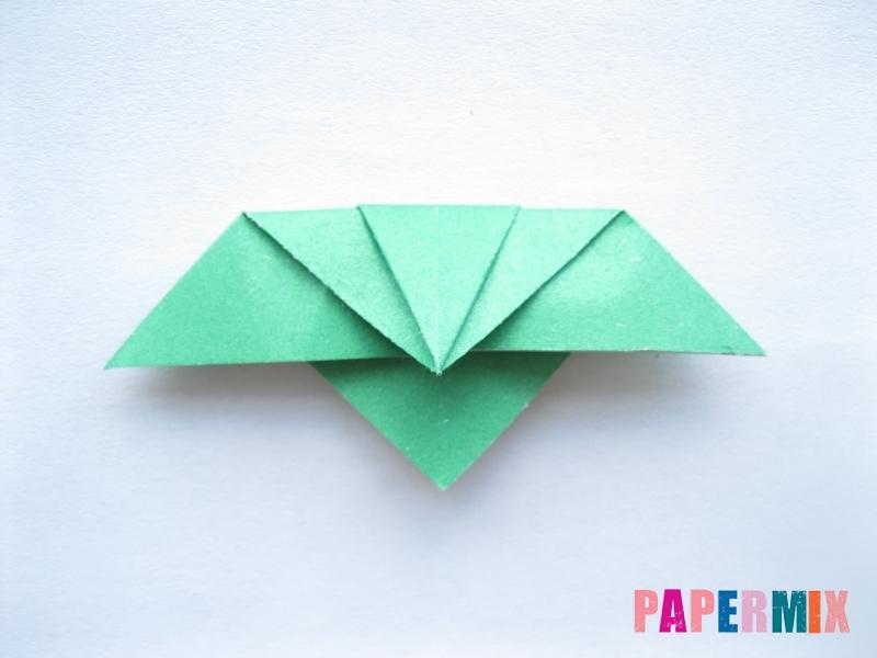 Как сделать баклажан из бумаги (оригами) своими руками - шаг 10