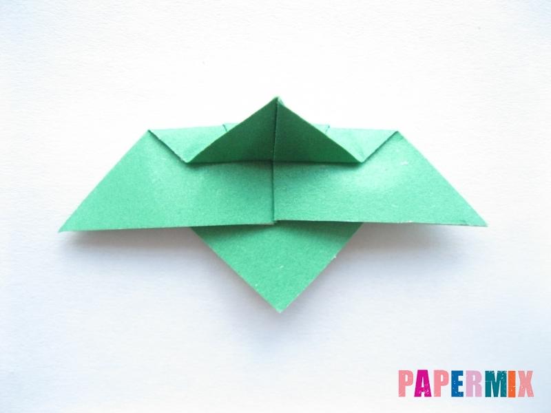 Как сделать баклажан из бумаги (оригами) своими руками - шаг 11