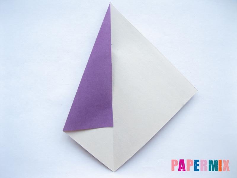 Как сделать баклажан из бумаги (оригами) своими руками - шаг 13