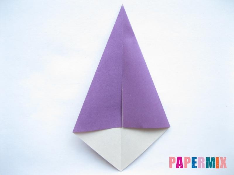 Как сделать баклажан из бумаги (оригами) своими руками - шаг 14