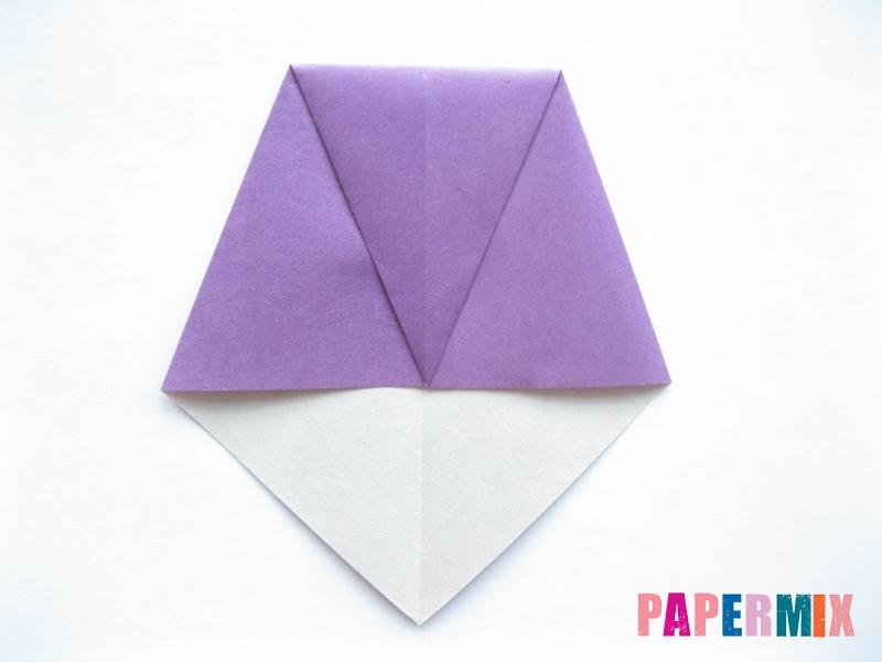 Как сделать баклажан из бумаги (оригами) своими руками - шаг 15