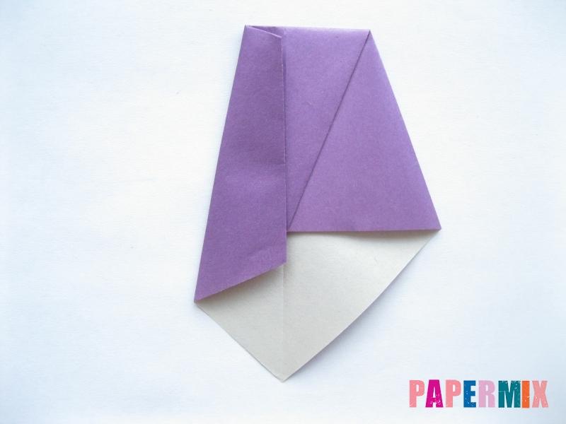 Как сделать баклажан из бумаги (оригами) своими руками - шаг 16