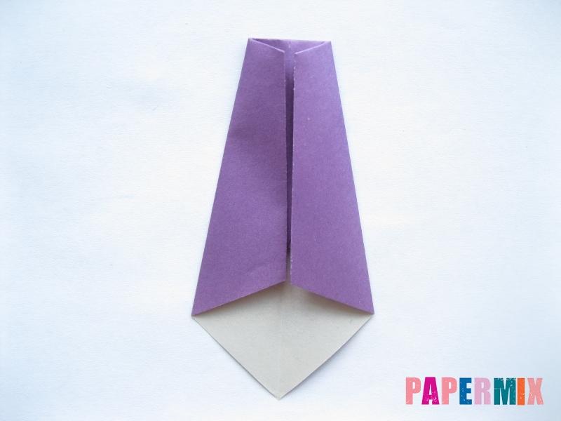 Как сделать баклажан из бумаги (оригами) своими руками - шаг 17