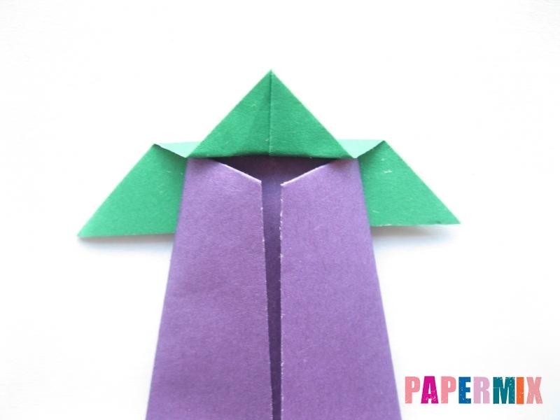 Как сделать баклажан из бумаги (оригами) своими руками - шаг 18