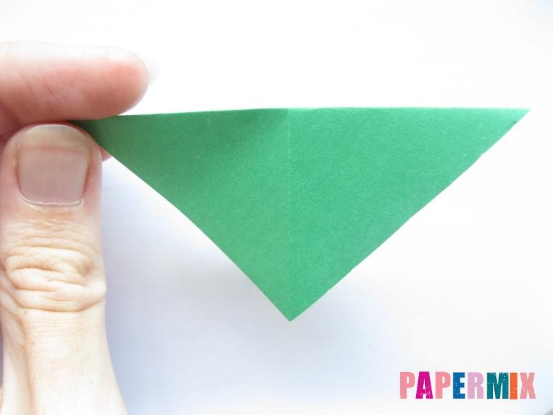 Как сделать баклажан из бумаги (оригами) своими руками - шаг 3