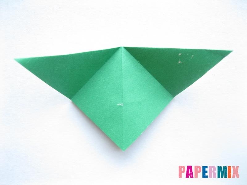 Как сделать баклажан из бумаги (оригами) своими руками - шаг 6