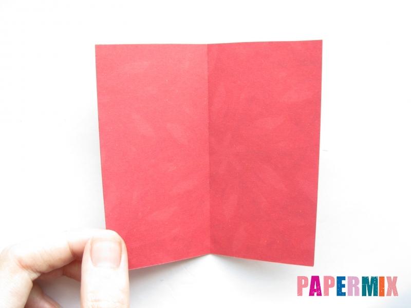 Как сделать конфету из бумаги (оригами) своими руками - шаг 2