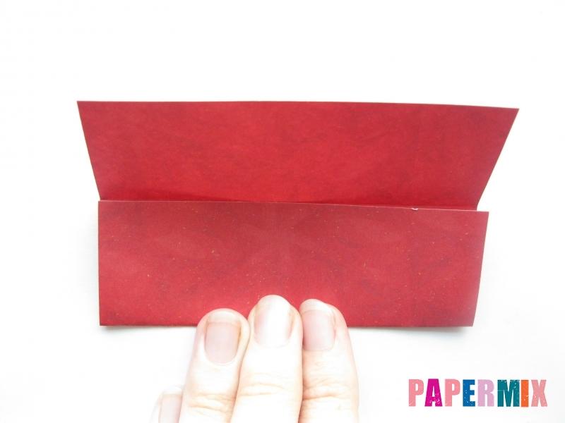 Как сделать конфету из бумаги (оригами) своими руками - шаг 4
