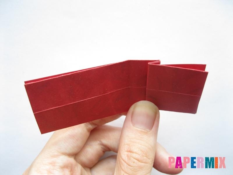 Как сделать конфету из бумаги (оригами) своими руками - шаг 8