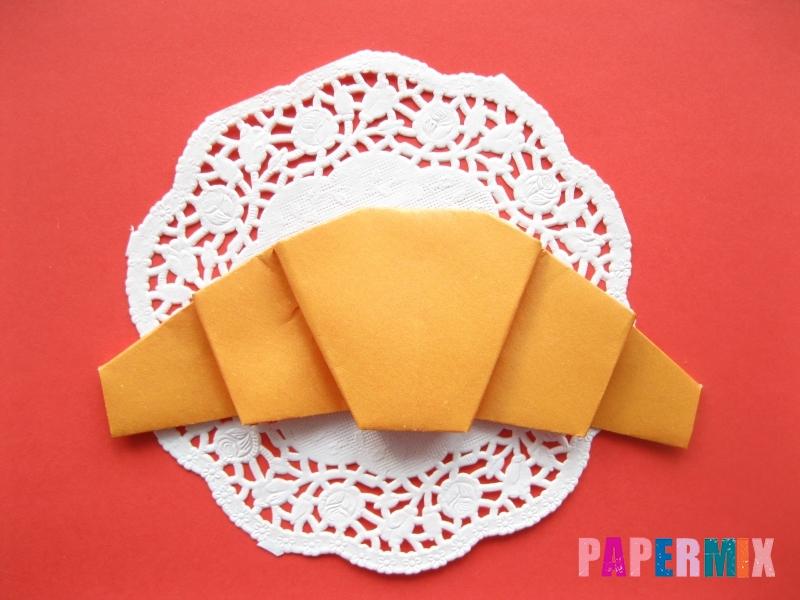 Как сделать круассан из бумаги (оригами) своими руками - шаг 10