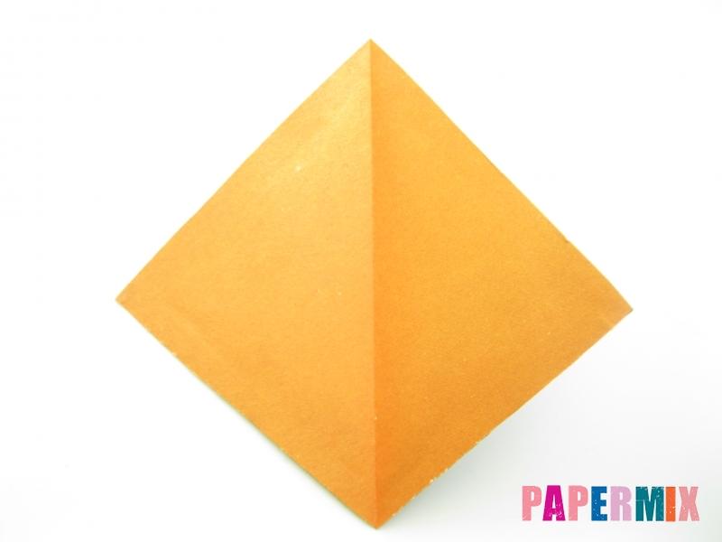 Как сделать кукурузу из бумаги (оригами) своими руками - шаг 2