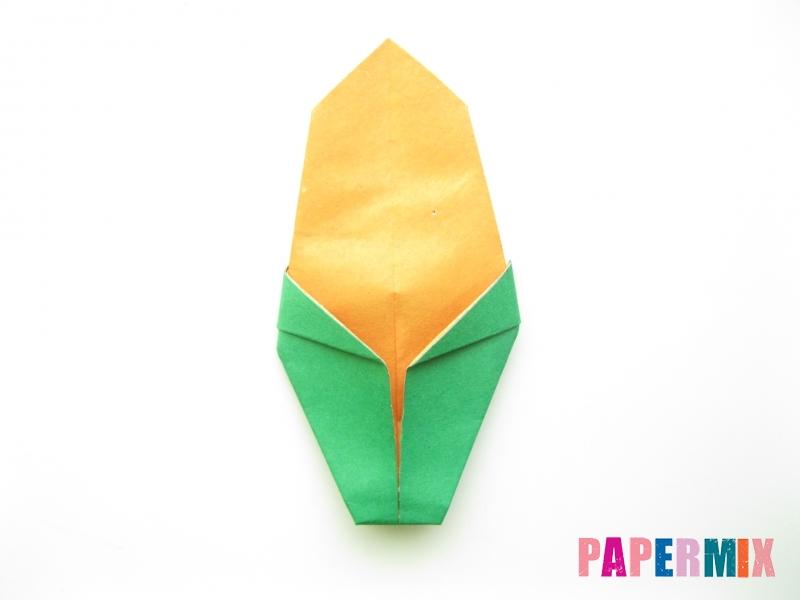 Как сделать кукурузу из бумаги (оригами) своими руками - шаг 7