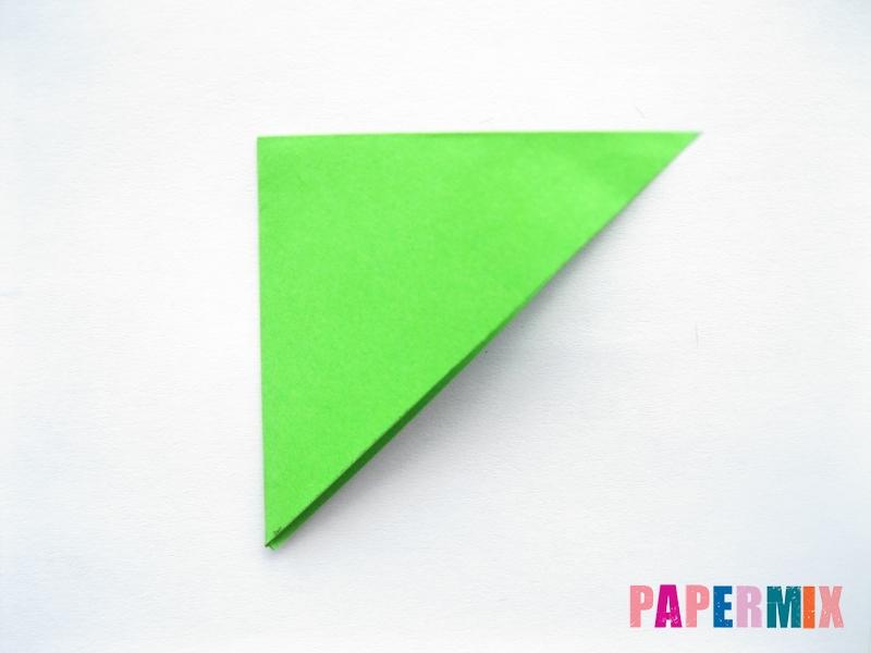 Как сделать морковку из бумаги (оригами) своими руками - шаг 12