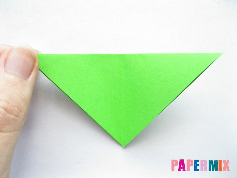 Как сделать морковку из бумаги (оригами) своими руками - шаг 13