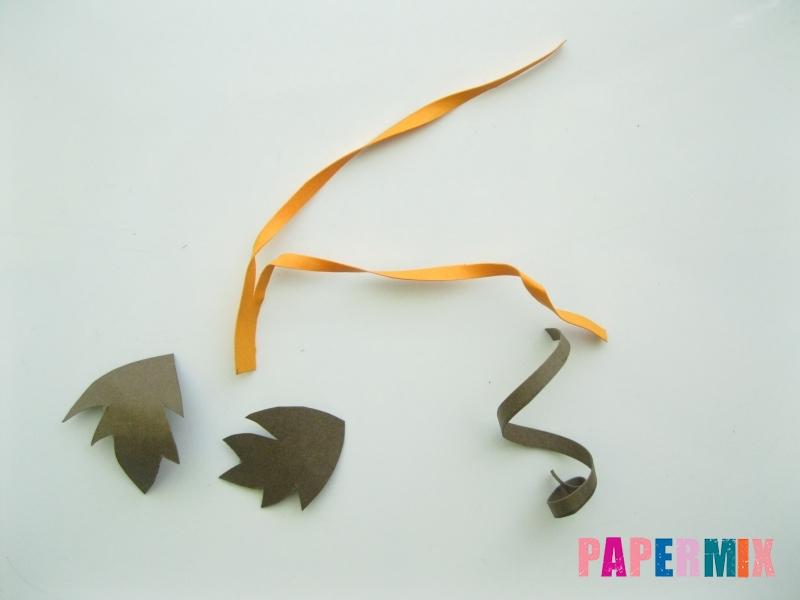 Как сделать объемную тыкву из бумаги своими руками - шаг 9