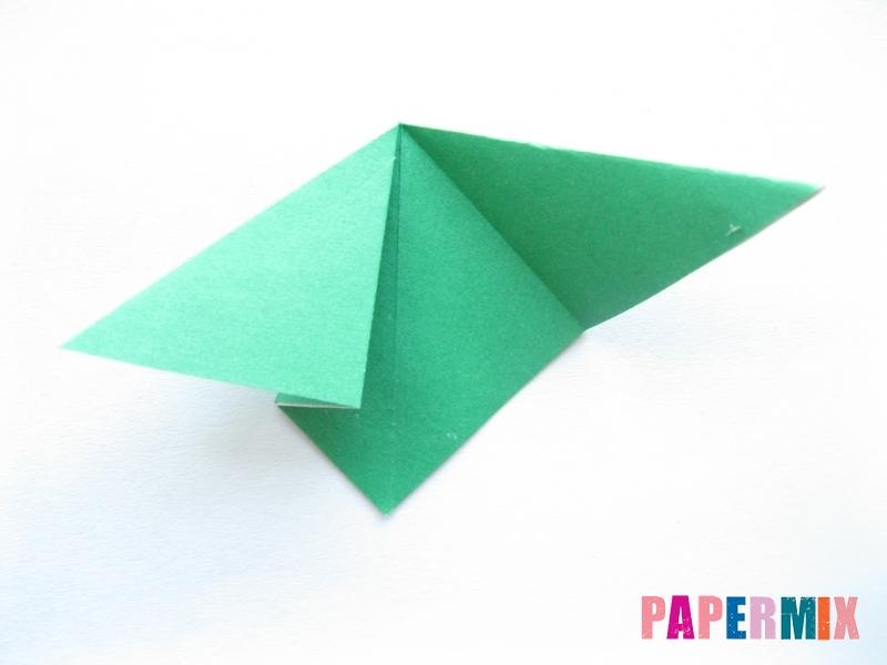 Как сделать помидор из бумаги (оригами) своими руками - шаг 11