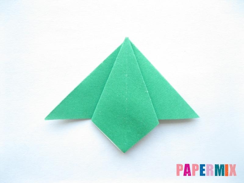 Как сделать помидор из бумаги (оригами) своими руками - шаг 12