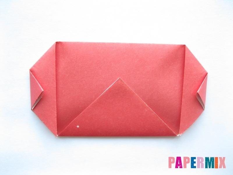 Как сделать помидор из бумаги (оригами) своими руками - шаг 4