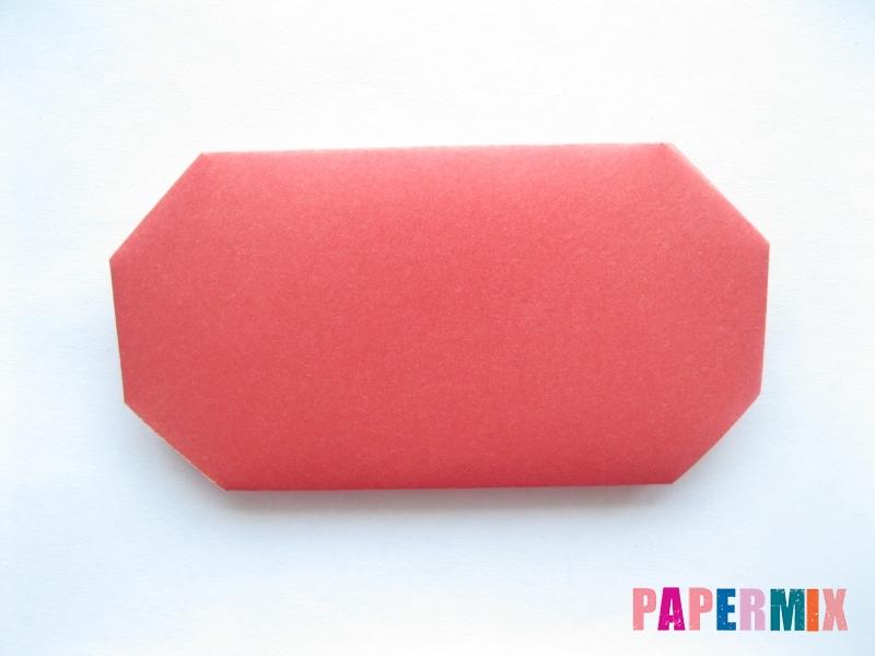 Как сделать помидор из бумаги (оригами) своими руками - шаг 5