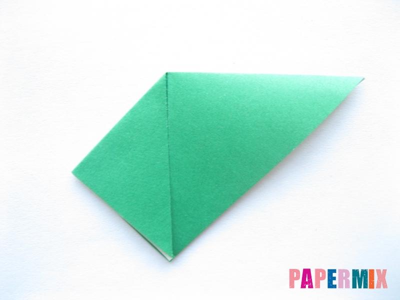 Как сделать помидор из бумаги (оригами) своими руками - шаг 7